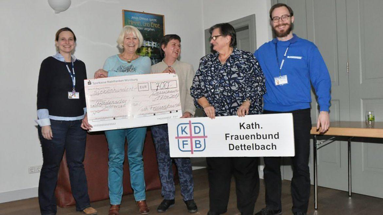 Frauenbund Dettelbach engagiert sich