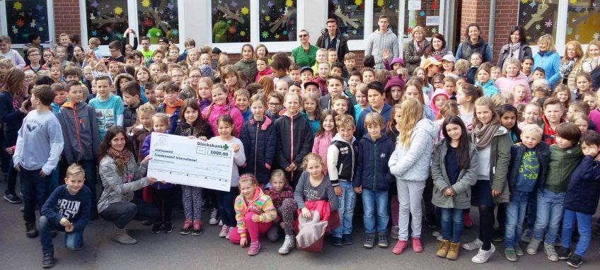Sponsorenlauf der Luisenschule