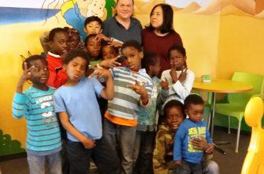 Ein toller Tag für die Kinder des Friedensdorfes