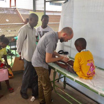 61. Hilfseinsatz in Angola – Team vor Ort