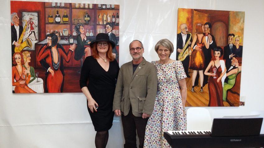 Ausstellungseröffnung in Friedas Welt