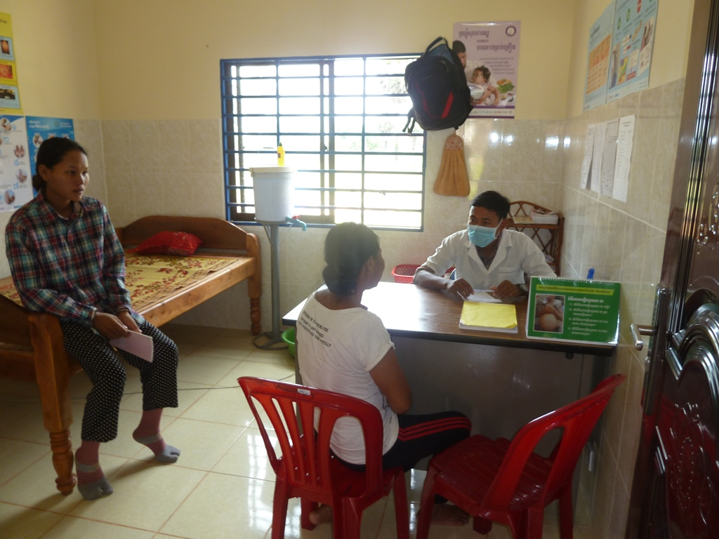 Basisgesundheitsstationen in Kambodscha arbeiten erfolgreich
