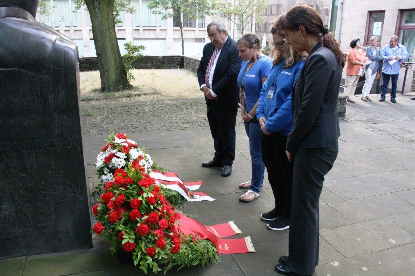 Antikriegstag in Duisburg