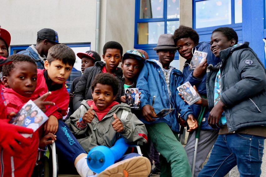 Engagiert für die Friedensdorf Kinder
