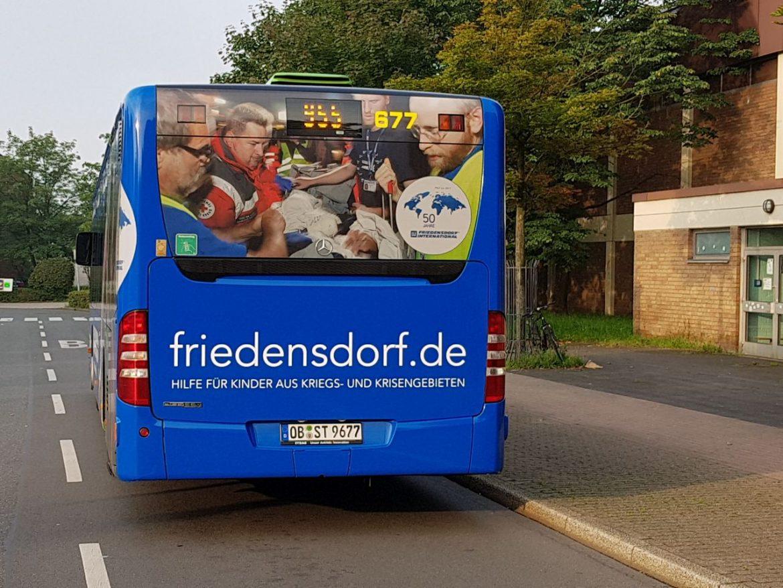 STOAG macht auf Friedensdorf aufmerksam