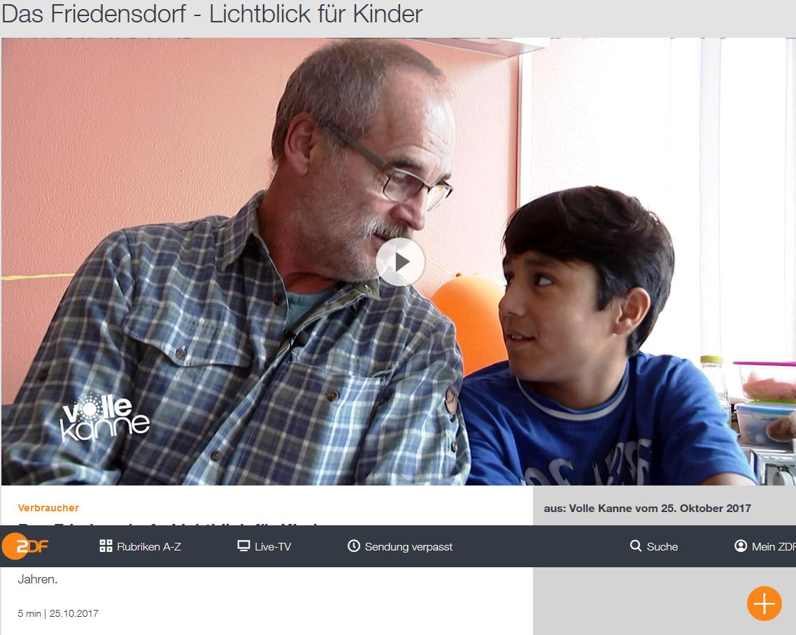 Friedensdorf im ZDF