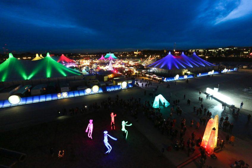München: Tollwood-Winterfestival
