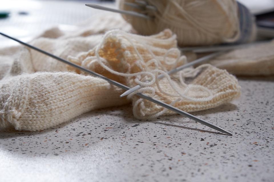 Vom Wollschaf zum Strickschal