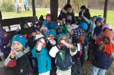 Strahlende Kinderaugen zu Ostern