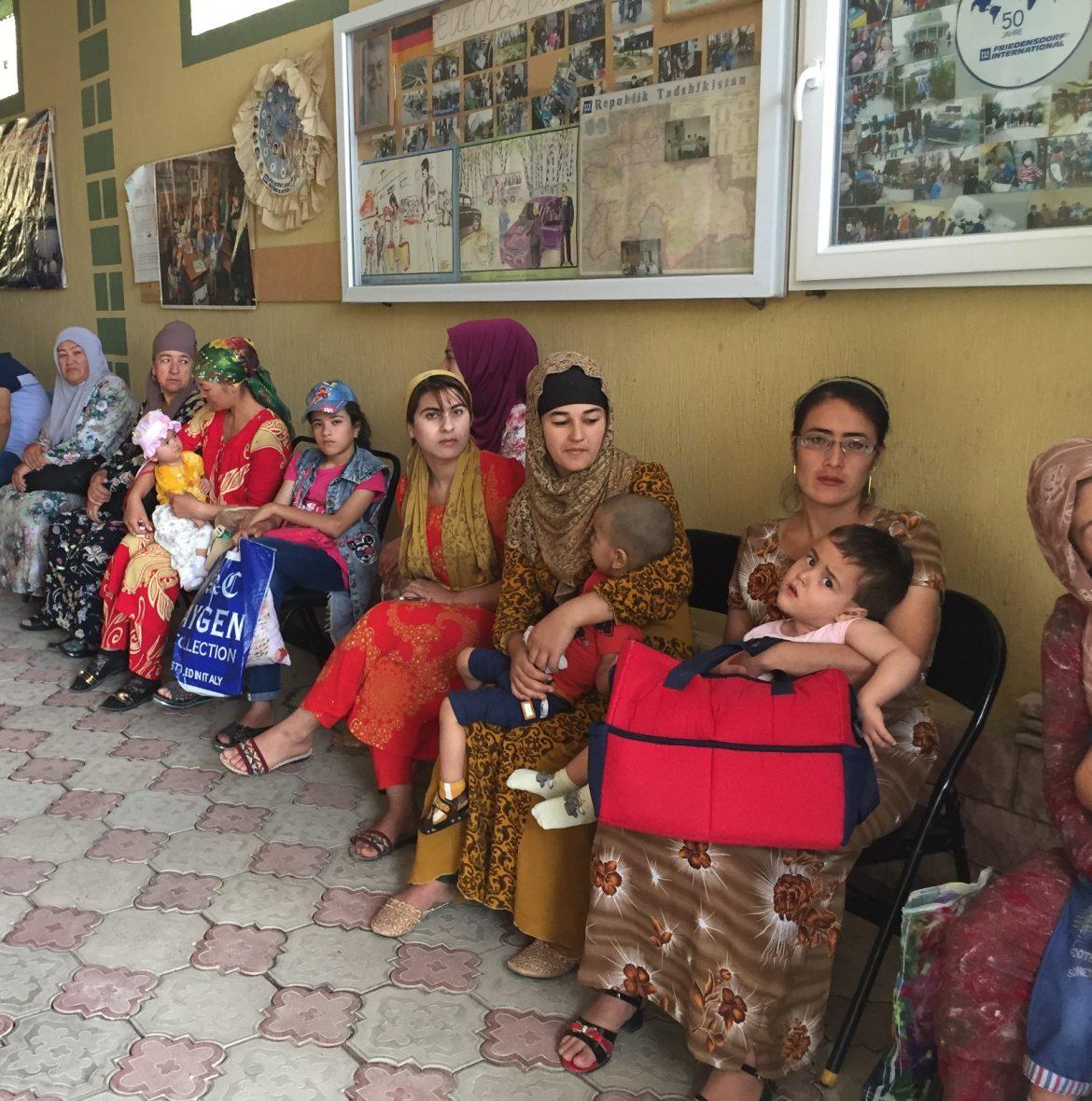 Rückkehr aus Tadschikistan