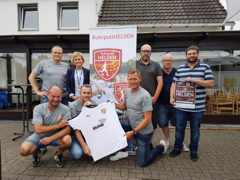 Ruhrpotthelden unterstützen das Friedensdorf