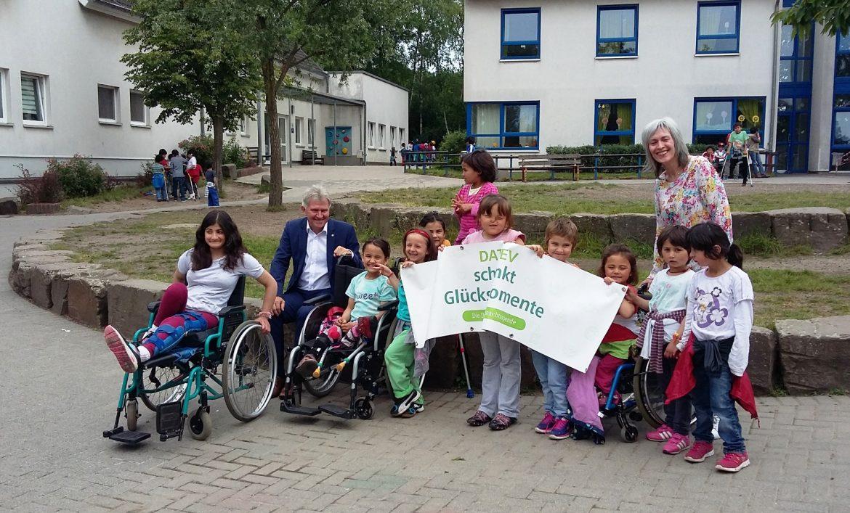 DATEV spendet für die Kinder des Friedensdorfes