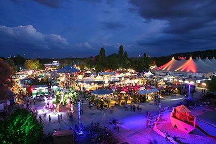 Tollwood Festival in München