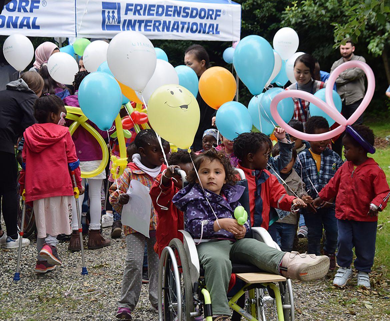 Dorffest findet am 8. September im Oberhausener Friedensdorf statt