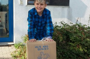 Maurice Fuchs sammelt für die Kinder des Friedensdorfes