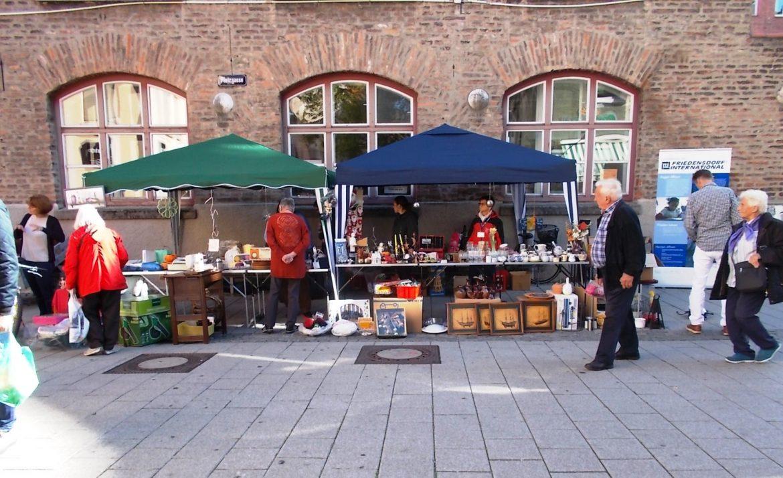 Flohmarkt für's Friedensdorf
