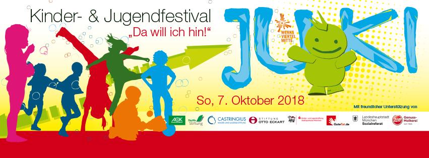 Zum dritten Mal  auf dem 7. Jugend- und Kinderfestival in München
