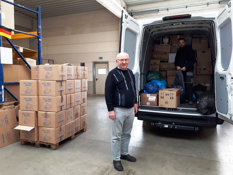 Wertvolle Unterstützung für Friedensdorf International