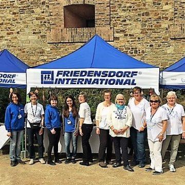 Auszeichnung für ehrenamtliches Engagement bei Friedensdorf International