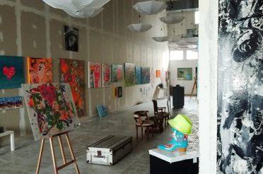 Essener Künstler verkauft Kunst zugunsten des Friedensdorfes