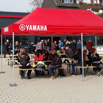 Yamaha Zentrum Rhein-Ruhr West sammelte für Friedensdorf-Kinder