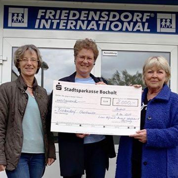 Spendenaktion der Lions der Zone Bocholt-Rees