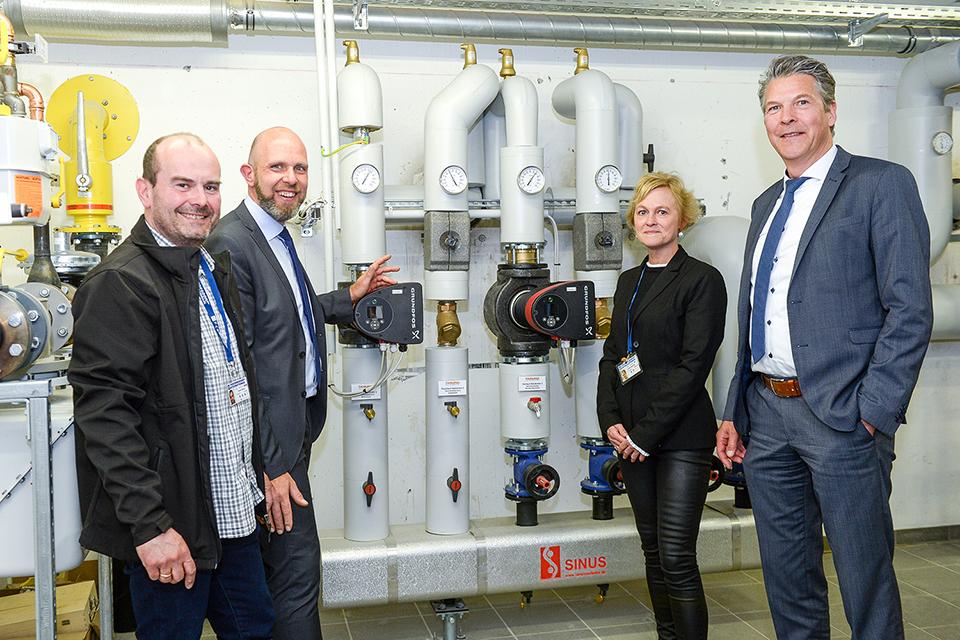 Neue Heizungsanlage im Friedensdorf nimmt Dienst auf