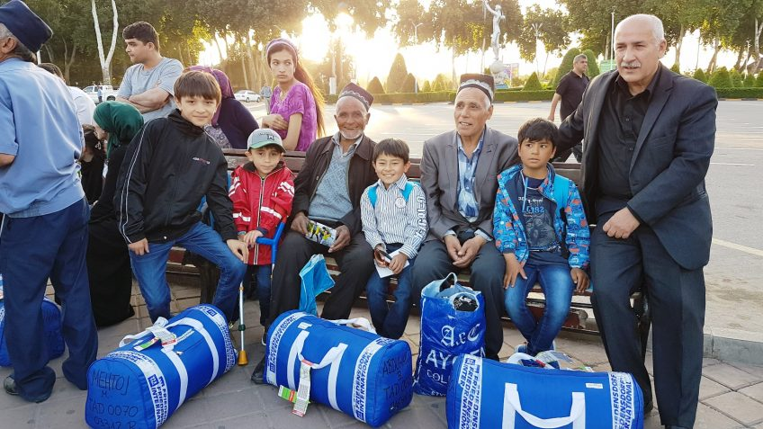76. Hilfsaktion des Friedensdorfes in Tadschikistan