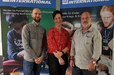 Leitungswechsel bei Friedensdorf International