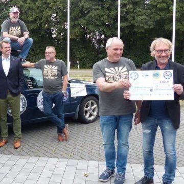 Eine Abenteuerfahrt fürs Friedensdorf