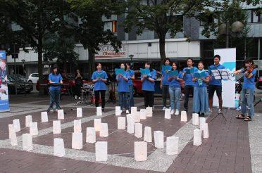 Gedenken an Hiroshima und Nagasaki
