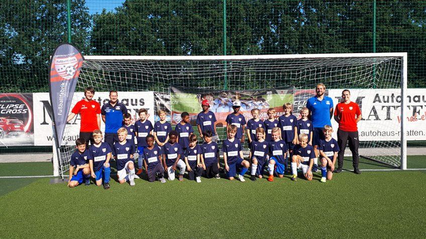 Friedensdorf-Kinder kicken mit der Fußballfabrik von Ingo Anderbrügge