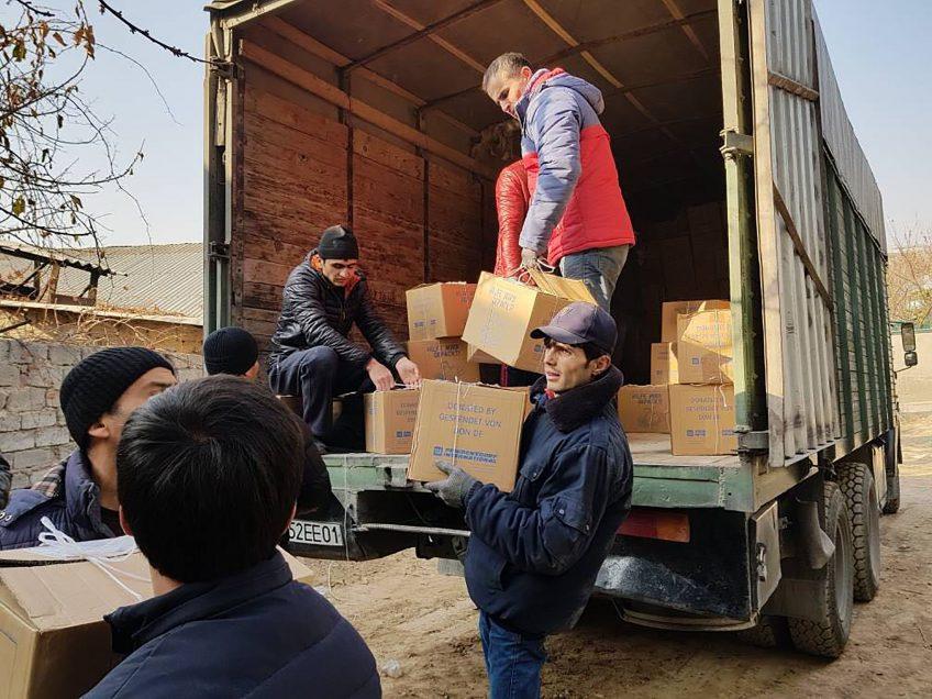 """Zum Dorffest startet die Paketaktion """"Hilfe wird gepackt"""""""