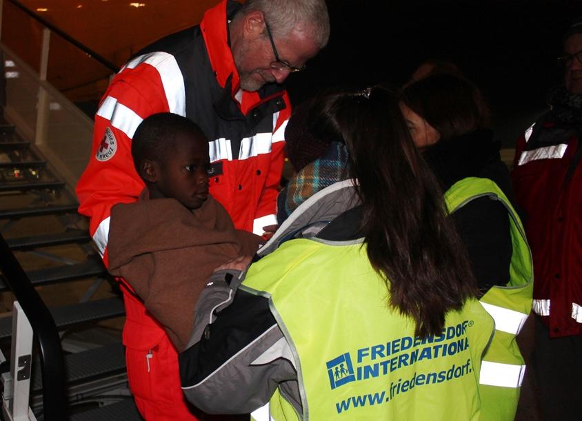 66. Hilfseinsatz für angolanische Kinder gestaltete sich schwierig
