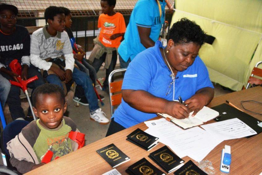 Unser Einsatzteam berichtet aus Angola