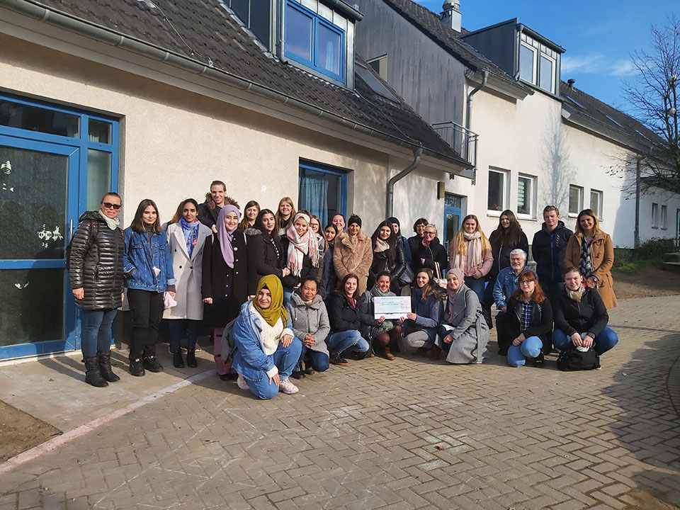 Sportliches Engagement für Friedensdorf International