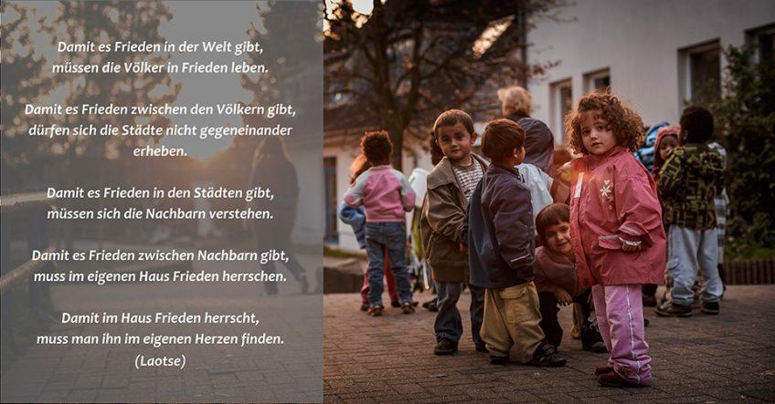 Das Friedensdorf wünscht frohe Weihnachten