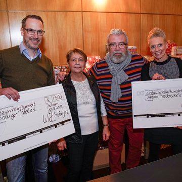 Solinger Wirtschaftsjunioren spenden an das Friedensdorf