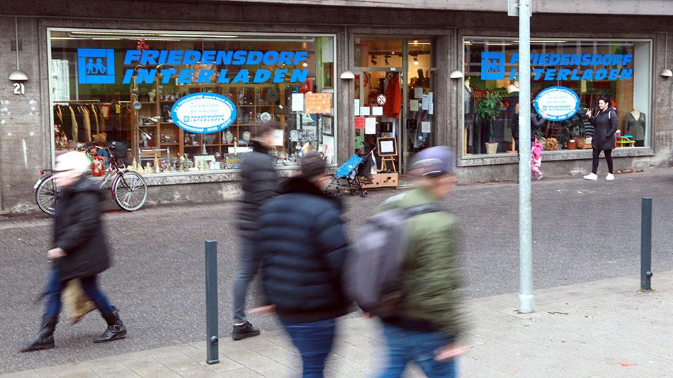 Friedensdorf-Interladen auf der Lothringer Straße nimmt Secondhand-Spenden künftig von 8 bis 11 Uhr an