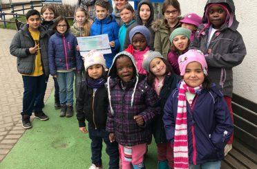 Hirschkampschüler erlaufen vierstellige Spendensumme