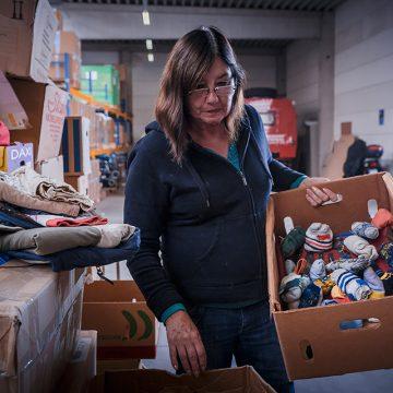 Friedensdorf ändert Annahmezeiten für Sachspenden