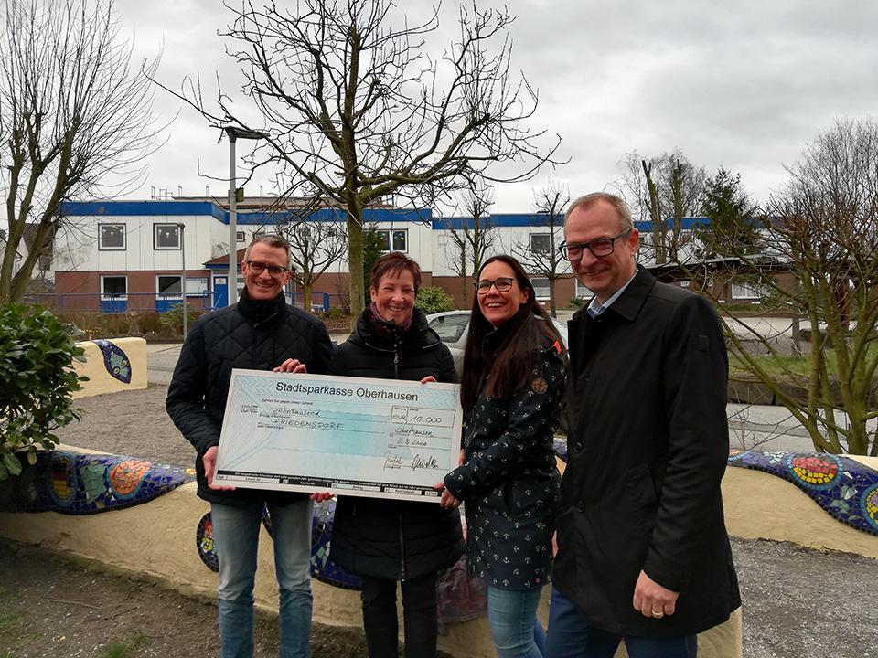 WBO spendet für Friedensdorf