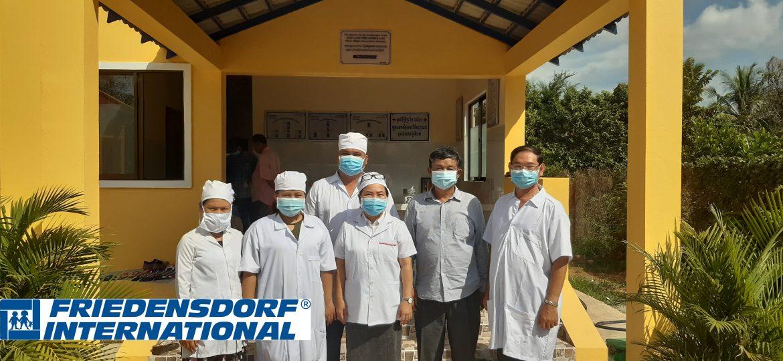 Eröffnung der 37. Basisgesundheitsstation in Kambodscha
