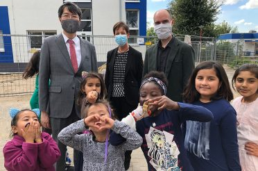 Japanischer Generalkonsul besuchte Friedensdorf