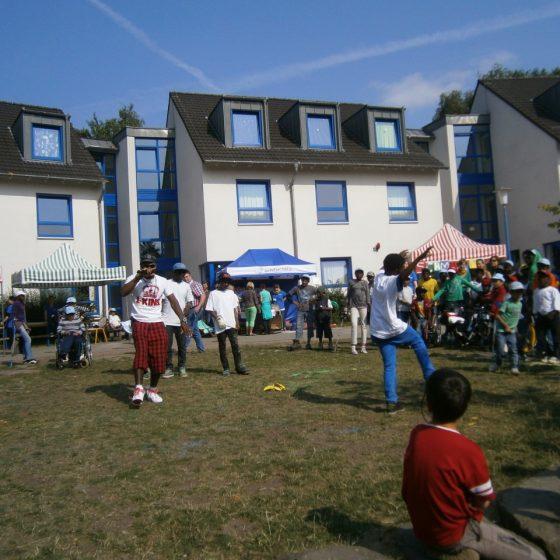 Fester Bestandteil des Dorffestes ist immer ein buntes Bühnenprogramm.