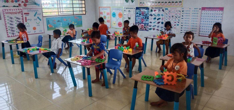 Kindergartenprojekt in Kambodscha öffnet wieder