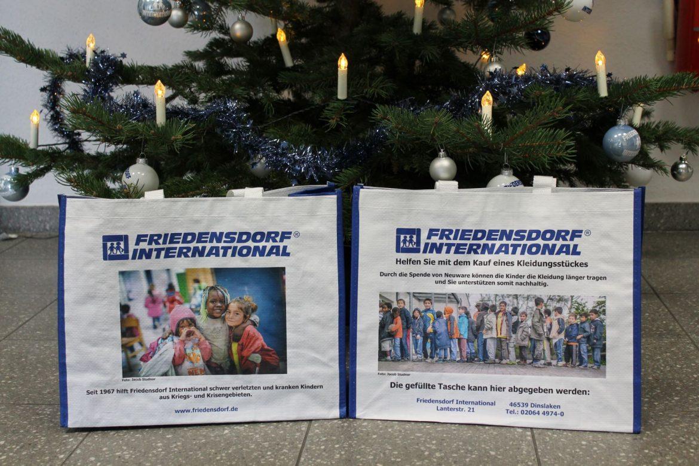 Geschenkaktion für die Friedensdorf-Kinder