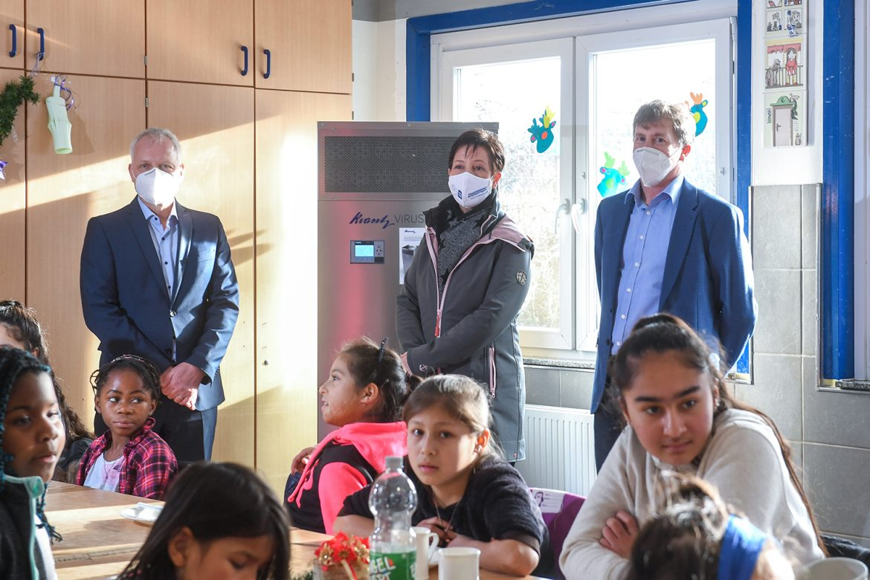 Luftfilter für das Friedensdorf International