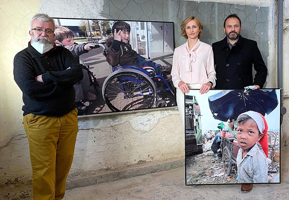 15.000 Euro zugunsten der Friedensdorf-Kinder