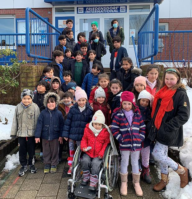 Friedensdorf sichert Versorgung für Kinder in Afghanistan und Zentralasien